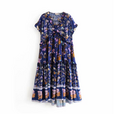 Sonny | Bohemian Ruffle Dress