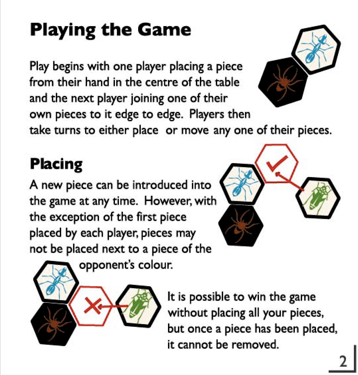 Hive Board Game | Wooden Game