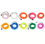 DYI Neon Effect Lighting | Flexible Neon Light LED Glow Tube | 10 Colours | 1M/2M/3M/5M/10M
