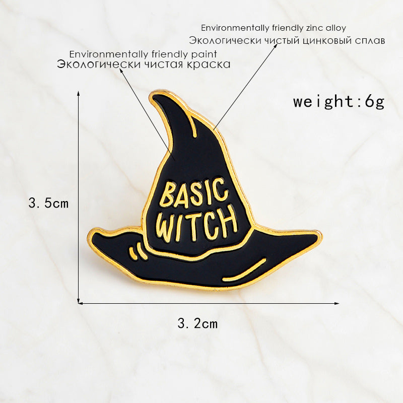 Basic Witch | Enamel Pin | 1 Piece