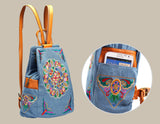 embroidered boho backpack school bag Womens Handbags, Bags, Overnight Bags, Totes, Purses, and coin purses | Woodland Gatherer | Australian NZ Online Store | Gifts & Treasures | Special Occasions & Everyday Fun | Whimsical Treats | Jewellery | Fashion | Crafting DYI | Stationery | Boho Festival Fashion | Home Decor & Fittings