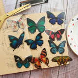 28pcs Tropical Rainforest Butterfly Stickers