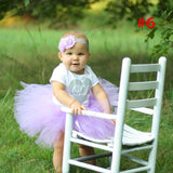 Peacock l Baby Tutu Skirt and Headband Set | Photography Props