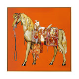 King Of Glory | Canvas Painting | Horse Wall Art
