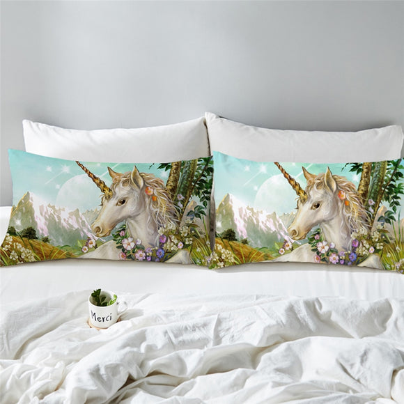 You Magnificent Beast You | Unicorn Pillowcases