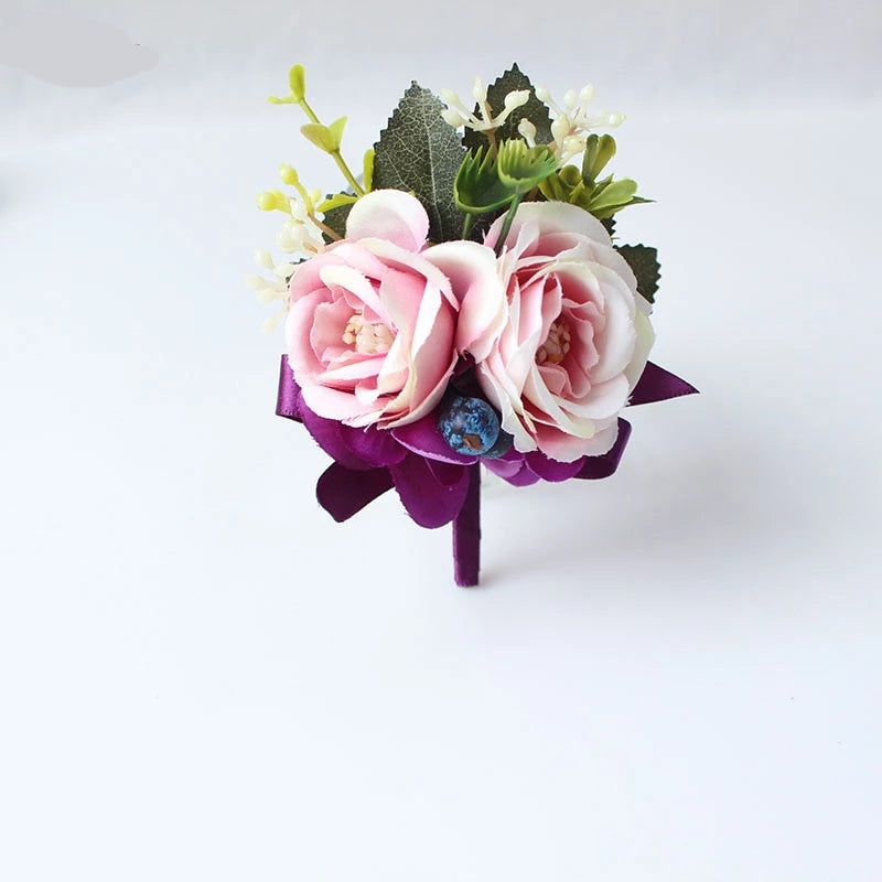 Wrist or Ankle Corsages & Matching Boutonnieres