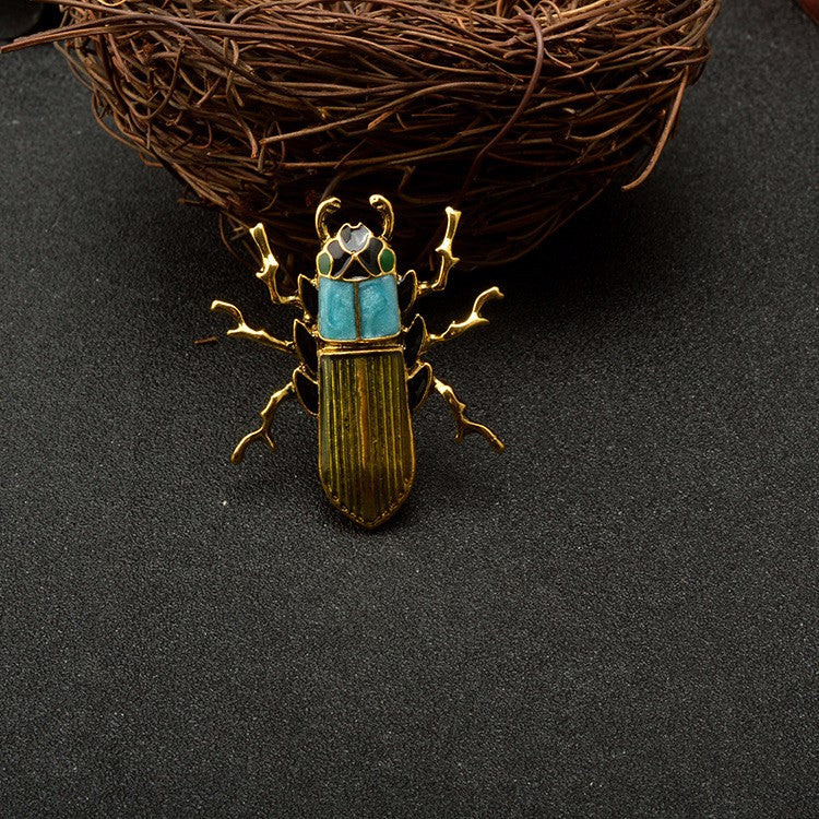 Scarab Beetle | Insect Brooches