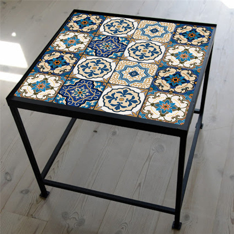 Moroccan Tiles | PVC Waterproof Tile Sticker