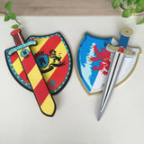 Medieval Sword & Shield Set | Soft Children Cosplay