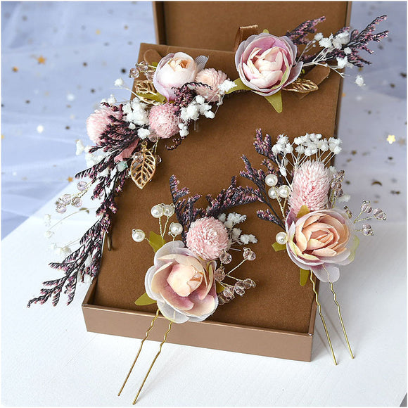 Wedding Hair Accessories Bridal Hair Bridesmaids Hair Clip Woodland Gatherer | Australian NZ Online Store | Gifts & Treasures | Special Occasions & Everyday Fun | Whimsical Treats | Jewellery | Fashion | Crafting DYI | Stationery | Boho Festival Fashion | Home Decor & Fittings