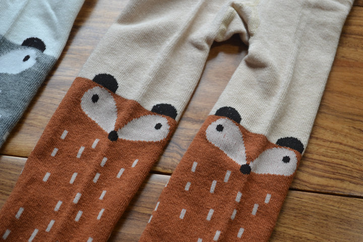 Lil Girl Woodland Cotton Tights