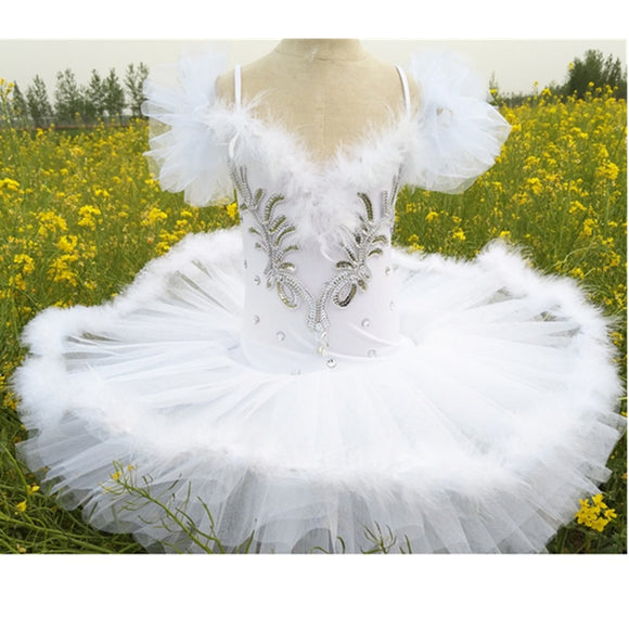 White Swan Lake Ballet Costume