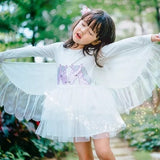 White Swan Dress With Wings