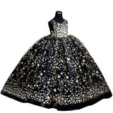 Stellina Girls Ball Gown | Pink or Black