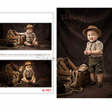 Sitter's Vintage Photo Shoot Outfits | 6-12 month old Baby