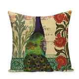 Peacock Cushion Covers | Home Decor | 16 Variations