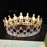 Round Austrian Queen Crown