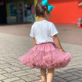 Baby Girls Tutu Skirt | Dusty Pink