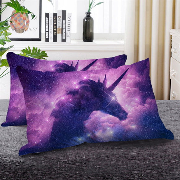 Galaxy Unicorn | Bed Pillow