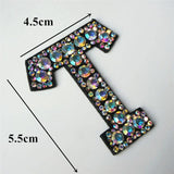 26 Letters Rhinestones Alphabet | Appliqués Patches