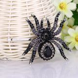 Spider Jewellery Earring and Necklace Set Austrian Crystal Australian NZ Online Shopping Gifts Fun Fashion | Woodland Gatherer | Australian Online Store | Gifts & Treasures | Special Occasions & Everyday Fun | Boho Life | Whimsical Treats | Jewellery | Fashion | Crafting DYI | Stationery | Boho Festival Fashion