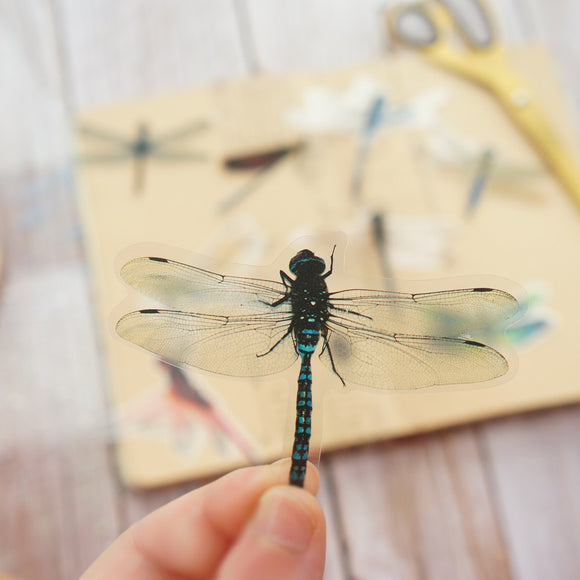 28pcs Dragonflies PVC Stickers
