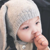Oeuf Baby Wool Knit Sweaters | Super Cute Sheep and Fawn Sweater, Pants & Beanie