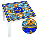 Italian Majolica Tile Sticker | Removable Self-Adhesive & Waterproof