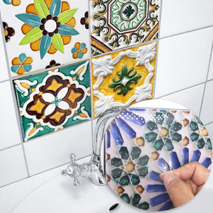 PVC Tile Stickers Self-Adhesive DIY Tile Makeover Cheap Reno Ideas Bohome Creative Home Style Woodland Gatherer | Australian Online Store | Gifts & Treasures | Special Occasions & Everyday Fun | Boho Life | Whimsical Treats | Jewellery | Fashion | Crafting DYI | Stationery | Boho Festival Fashion