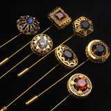Gold Tie Pins | Mens Formal Wear