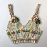 Indie Crocheted Crop Top