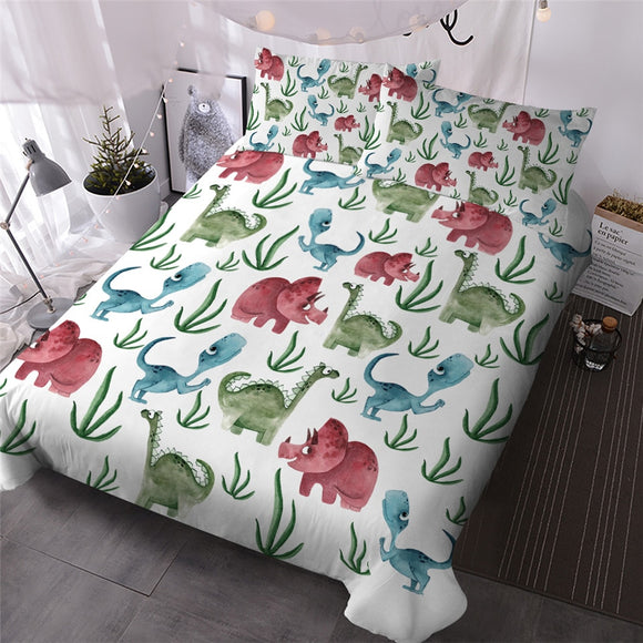 Dinosaur Friends Duvet Set