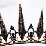 Night Sky Queen Crown | Woodland Gatherer Crown