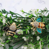 Cute Little Bee Brooches