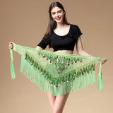 Gypsy Life Belly Dancing Fringed Hip Scarf
