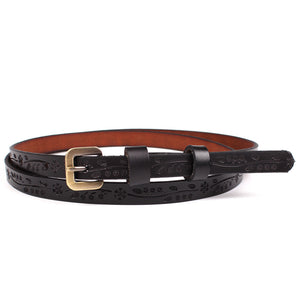 Tooled Leather Belts | Genuine Leather