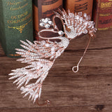 Crystal Swan Lake Tiara | Woodland Gatherer Crowns