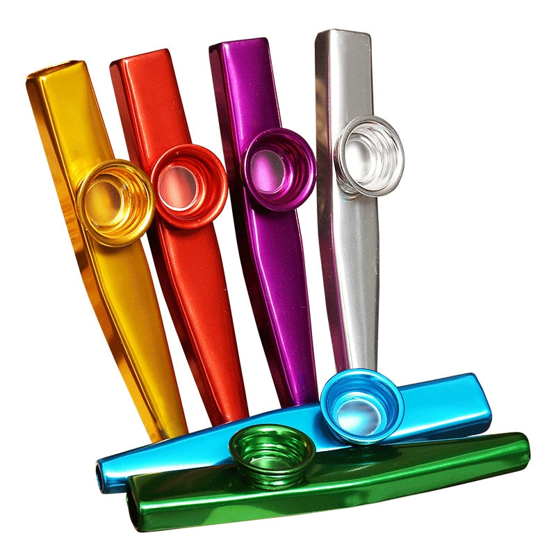 Metal Kazoo Lightweight | Beginner Woodwind Musical Instrument