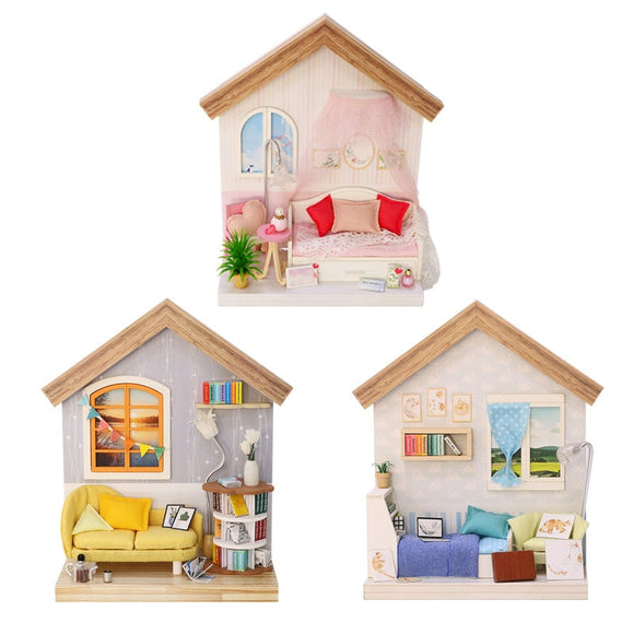 Mini DIY Dollhouse Kits