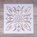 Tile Stencils | 15 cm | DIY Craft Layering Stencils