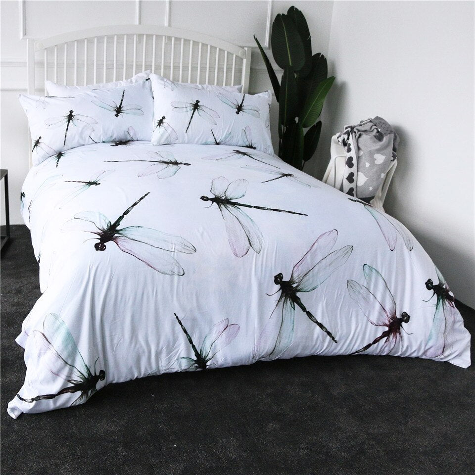 Dragonfly Duvet Set