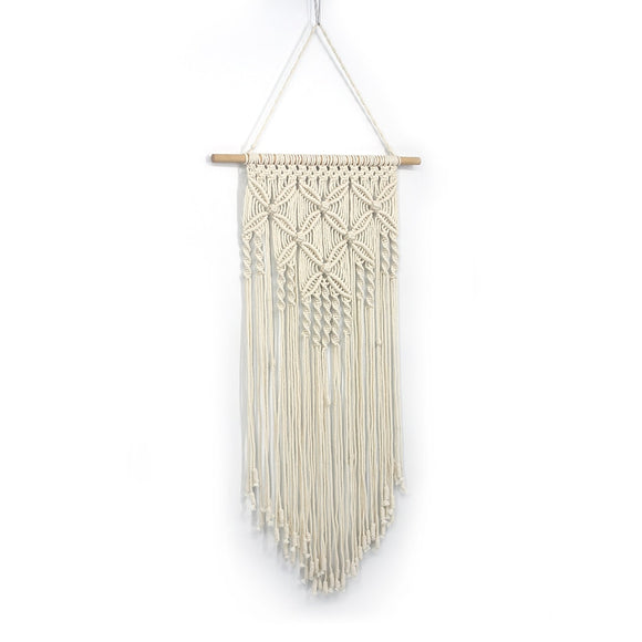 Braided Macrame Wall Hanging | Boho Home Decor
