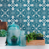Retro Tiles Wall Stickers