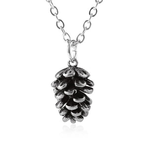 Pine Nut Pendant Chains Necklace