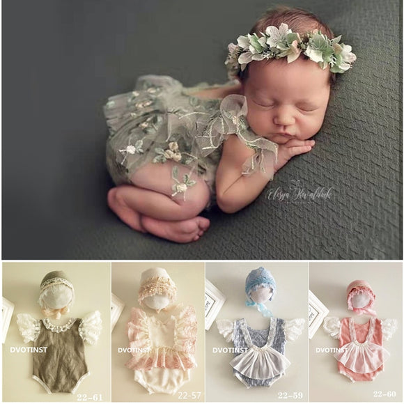 Newborn Woodland Fairy Photography Studio Outfits | 2pcs Sets