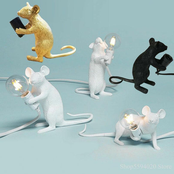 Nordic Resin Mouse Table Lamp | Light Fixtures