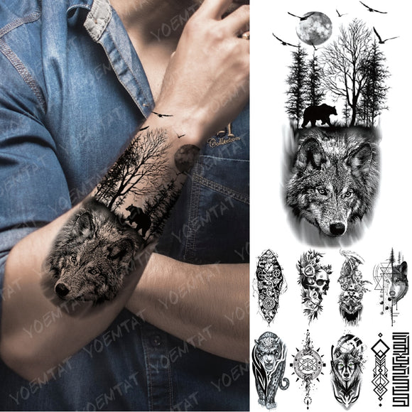 Wild Thing | Temporary Tattoos