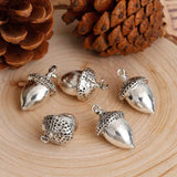 Two Acorn Charms