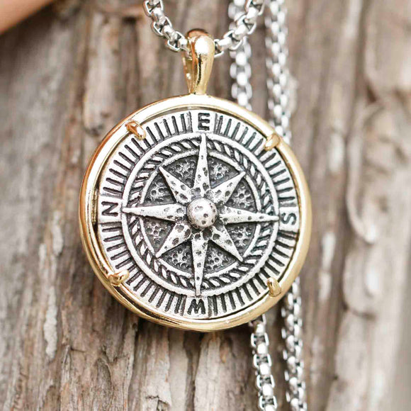 Pirate's Compass Necklace | Wanderlust Never Lost