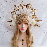 The Sun Godmother's Halo Crown | Vintage Style Headwear